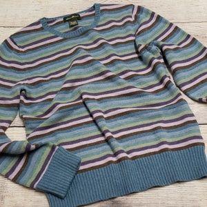 {Eddie Bauer} Stripe Sweater